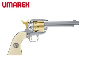 Umarex Colt SAA  45 Gold Edition  177 Pellet C02 Airgun 5 5