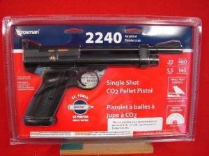 Crosman 2240  22 C02 Air Pistol >Crosman Air Pistols >Air