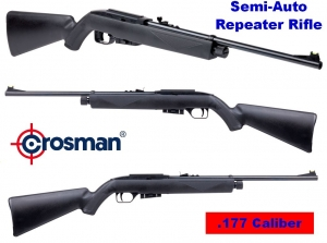 Crossman 1077 Co2 Semi Automatic 12 Shot Air Rifle >Crosman Air