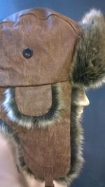 Oslo Leather Trapper Hat by Eureka Stockade