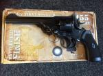 Webley MKVI Service Revolver CO2 .177- Pellet Firing in Battlefield Finish.