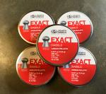 JSB Exact Pellets .177, 4.5mm x 5 Tins - 2500 Pellets