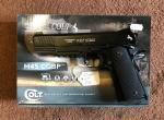Umarex Colt M45 A1 CQBP .177 BB Co2 Air Pistol - Could be delivered to your door if you live approx 60 miles from Skegness