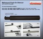 Weihrauch Push On Style Silencer
