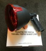 AUTUMN SPECIAL - Predator Fox Hunter Variable Power Hand Held Lamp 150mm + Red Filter