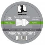 David Nickerson Magnum Point Air Rifle Pellets .177