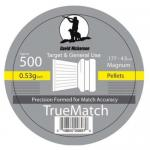 David Nickerson True Match Flat Air Rifle Pellets .177